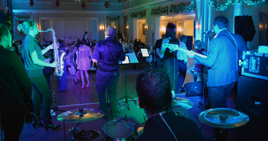 Majestic hotel in Harrogate - Corporate gig for Bellway Homes