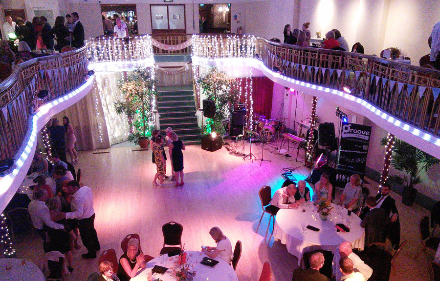 Wedding at Kings Hall and Winter Gardens, Ilkley