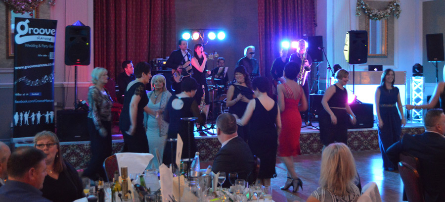 The Majestic Hotel, Harrogate. Corporate gig for Bellway homes