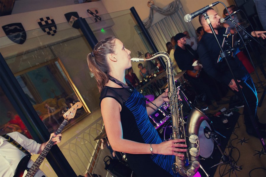 Ripley Castle Harrogate Wedding Band