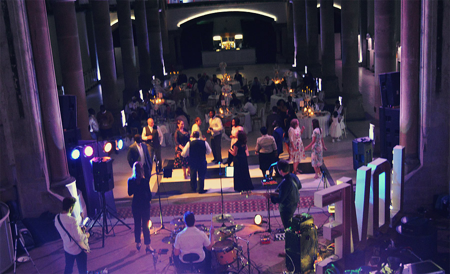 The Monastery Manchester Wedding Band