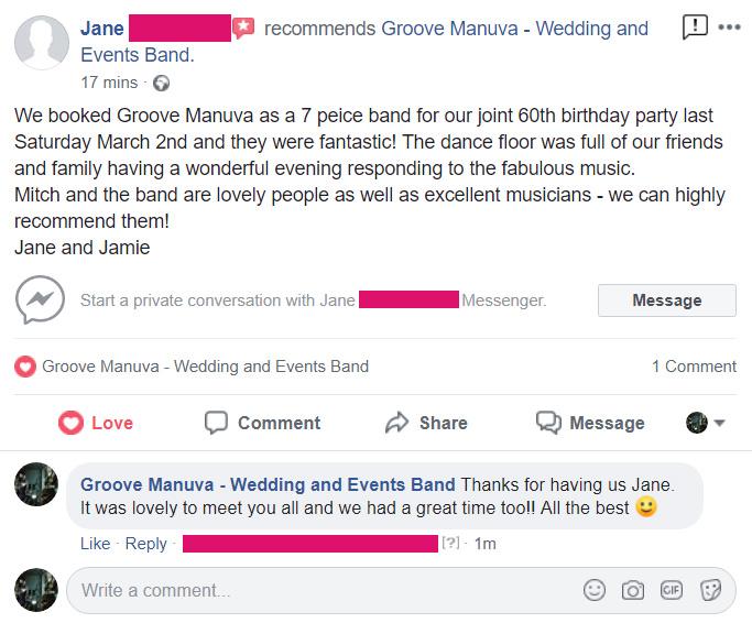Events Band Leeds