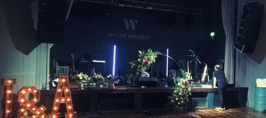 Wedding Band Wylam Brewery Newcastle