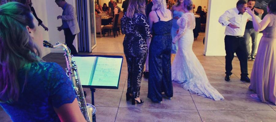 Wedding Band Saxophone DJ Millhouse Restaurant, Skidby