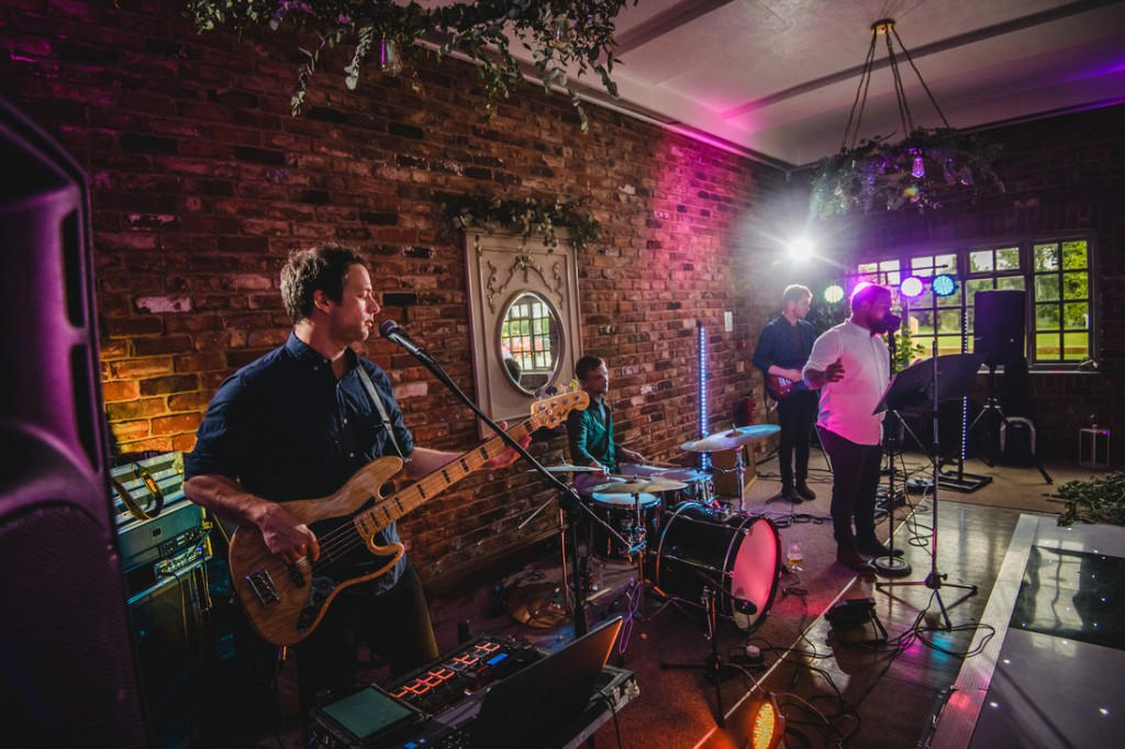 Wedding Band at Larkspur Lodge, Knutsford
