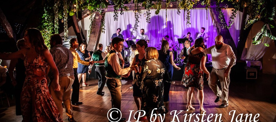 Wedding Band Rivington Hall Barn