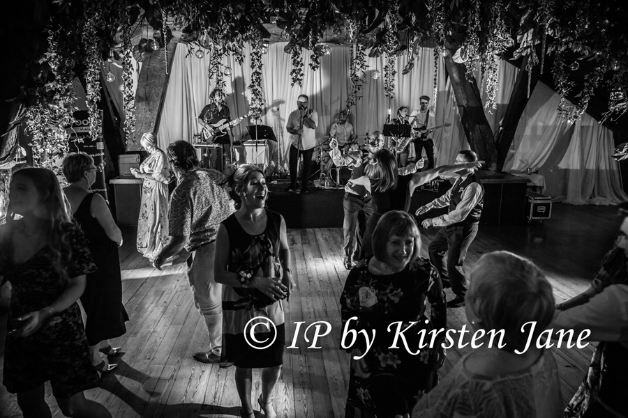 Wedding Band Rivington Hall Barn