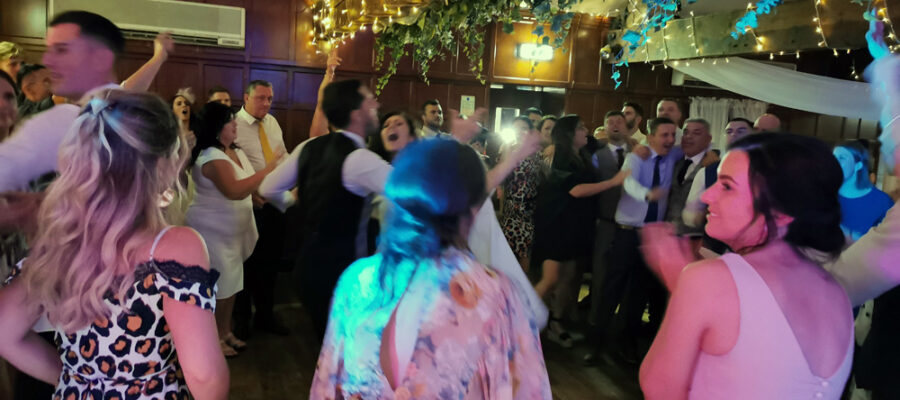 Wedding band and acoustic duo at Last Drop Village, Bolton